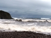 Stormy picture of Nethermill bay