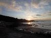 Sunset at Pennan's beach