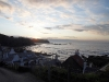Sunset at the village of Pennan
